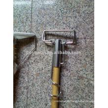 Galvanisieren Sie Stahl-nassen Mopp-Griff