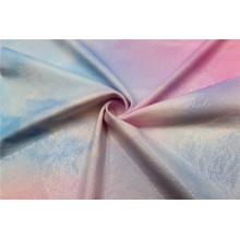 Tissu de rideau de tapisserie d'ameublement de luxe de textile d'aluminium