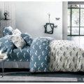 Reine Baumwolle Printed Home Bettwäsche-Set