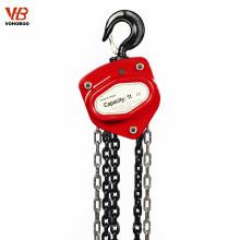 aparejo de elevación elevación de los instrumentos elevador manual elevador de cadena elevador de mano cabrestante