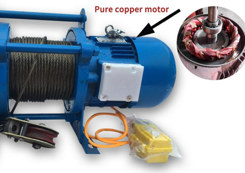 electric winch 2 ton