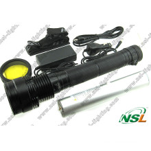 Мощный Алюминиевый аккумуляторная 85 Вт Ксеноновые Охота полиции Факел Кемпинг фонарик