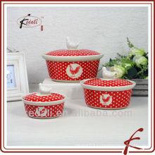 Набор керамических кастрюль