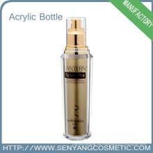 Botella cosmética Empaquetado colorido de lujo Venta al por mayor cosmético de la botella de acrílico