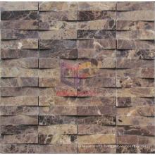 Dark Emperador Marble Mosaic (CFS887)