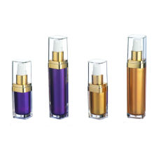 Cosmetic Acrylic Lotion Bottle, Square Series