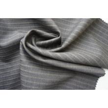 Stripe Wool Fabric of 100% Wool