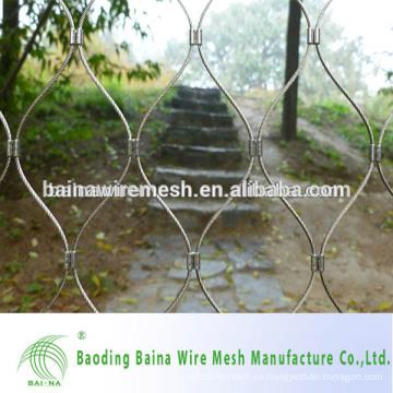 Malla de alambre de acero inoxidable perforado