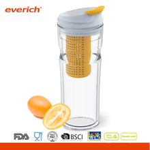 16OZ infuser Everich doble pared nueva fruta tritan vaso