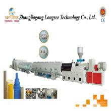 Chaîne de production de tuyau de drainage de PVC de grand diamètre