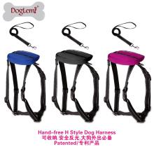 Ensemble de harnais pour chien Easy H Style Nouveau Laisse de chien Design pour chien Retractable Leash