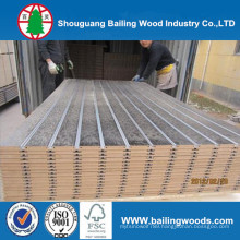 18mm Melamine Faced MDF Board / Slot MDF / Waterproof MDF Board