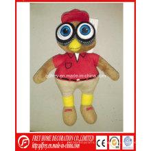 Kundenspezifisches Plüsch-Maskottchen-Spielzeug für Verein- / Basketball-Team