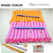 Hair Magic Leverag 24PC / 55cm Roller (HEAD-30)