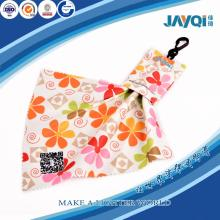 Key Chain with Microfiber Cleaning Cloth