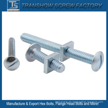 Galvanisierte Stahlüberdachungsbolzen-Quadrat-Nuss