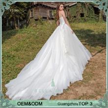 Reale Abbildungen der schönen Hochzeitskleidkleider Brauthochzeitskleider online wholesales Guangzhou-Hochzeitskleider für plus siz