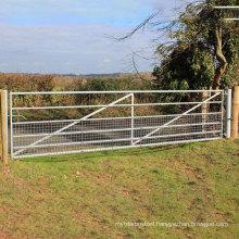 China supplier New design galvanized 6 foot farm W stay gate