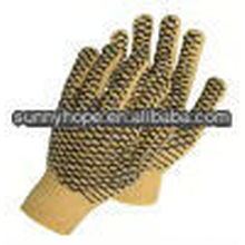 PVC gepunktete Handschuhe
