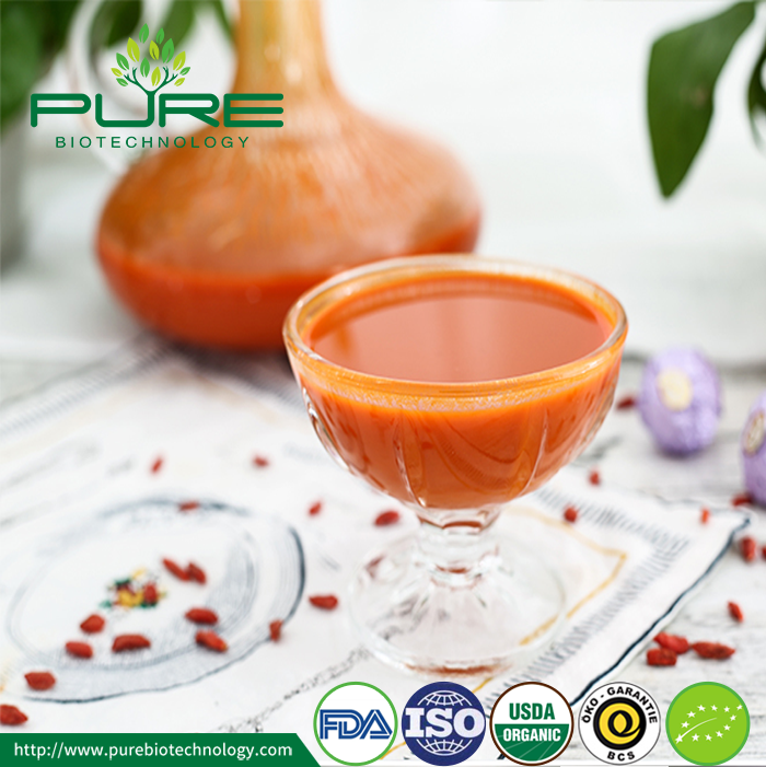 Organic Goji Raw Juice With NOP EU Certified (3)