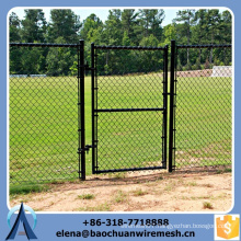 hot dipped&electric galvanized chain link fence, chain link wire mesh manufacture, chain link fence with low price