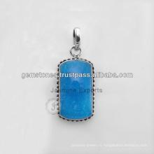 925 Ювелирные Изделия Стерлингового Серебра Серебряные Подвески Из Драгоценных Камней