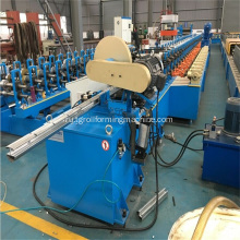 Peach-Type+Fence+Post+Roll+Forming+Machine