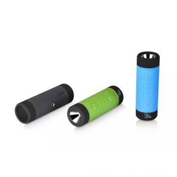 Haut-parleur Bluetooth étanche avec Power Bank / Flashlight / LED Light