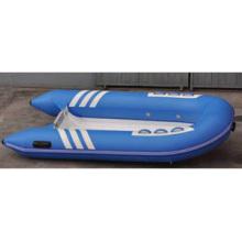 Vende Bem Azul Cor do Casco Rígido Fibra de Vidro Material 2.7m Comprimento 3 Pessoas Função Versátil Barco Inflável com CE China