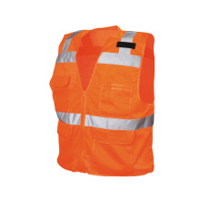 Orange Reflective Safety Jacket