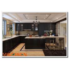 2016 Aisen Flat Laminate Gabinete de cocina Gabinetes de madera Interior Home Design
