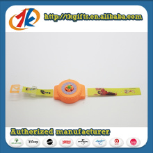 Promotional Toys Plastic Watch Shape Shooter Space Flying Toys