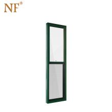 America Standard Vertical Opening Sliding Window, Aluminum Single Hung Window