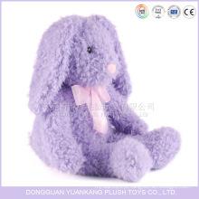 Orelha longa coelho de pelúcia boneca de brinquedo de pelúcia