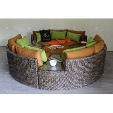 Great Design Natural Water Hyacinth Sofa Set for Living Room