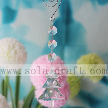 Wholesale Acrylic Transparent Christmas Tree Chandelier Prisms