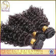 5A Virgin Unique Hair Dye Unprocessed Malaysian Curly Hair