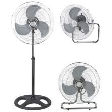 18-дюймовый вентилятор подставки (3 в 1-пьедестал / стол / настенный)
