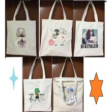 canvas tote girl bags