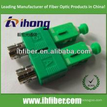 ST female SC apc male duplex fiber adapter
