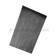 Decorative Wood Grain Anodized Aluminum Alloy Plate