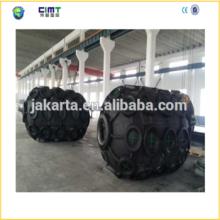 Yokohama Typemarine rubber fender with Galvanized Chain and Tyre made in china