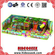 Candy Theme Soft Indoor Spielplatz mit Rutsche