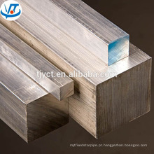 Barra quadrada inoxidável de superfície brilhante AISI304 316 316L Rod de ASTM A276