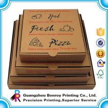 China Caja de empaquetado de pizza reutilizable de alta calidad fabricante