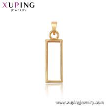 34122 xuping vente chaude charme 18k bijoux en or Fashion femmes pendentif