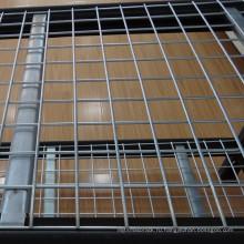 Горячие продаем сверхмощные промышленные металлические складские стеллажи с decking провода