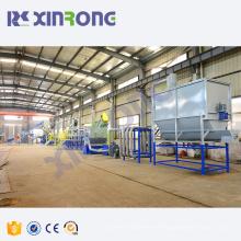 PP PE plastic bag washing recycling granulating machine equipment manufacturer