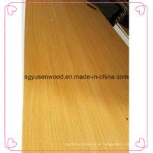 Todos los colores de la madera contrachapada de la chapa de madera de la madera contrachapada de la melamina