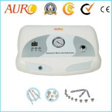 Au-3012 Diamond Microdermabrasion Facial Beauty Instrument para peeling de la piel con 9 puntas